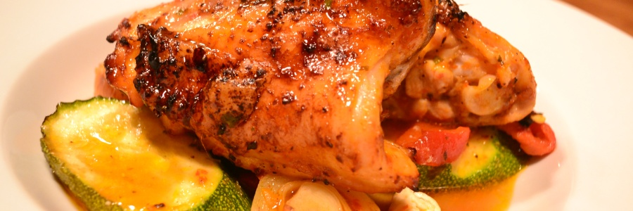 Roasted Chicken and root veg