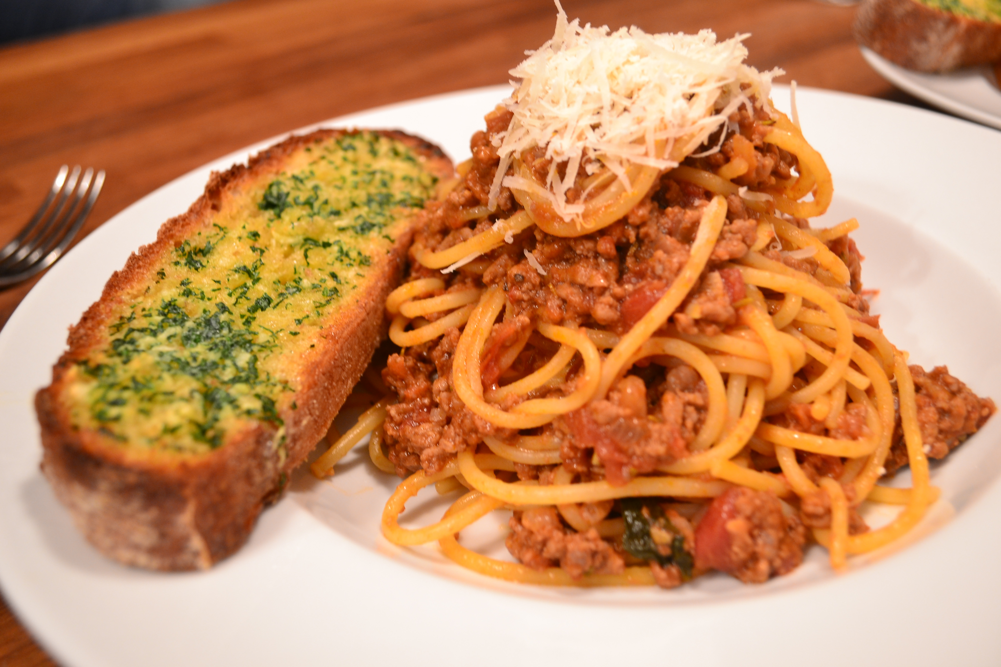 Ma Kelly's Pasta with meat sauce | The Bicycle Thief