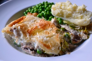 Creamy Chicken Pie