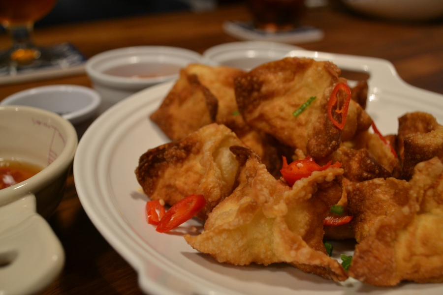 Deep fried Wontons
