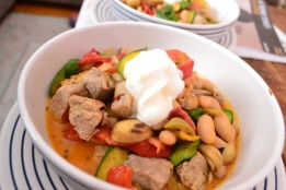 Pork and Cannelini Beans
