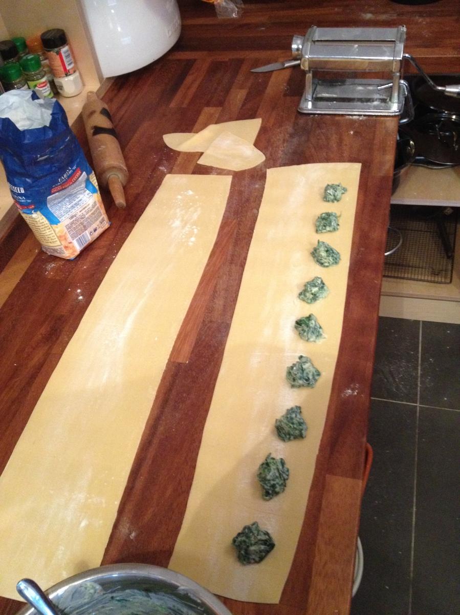 Home Made pasta