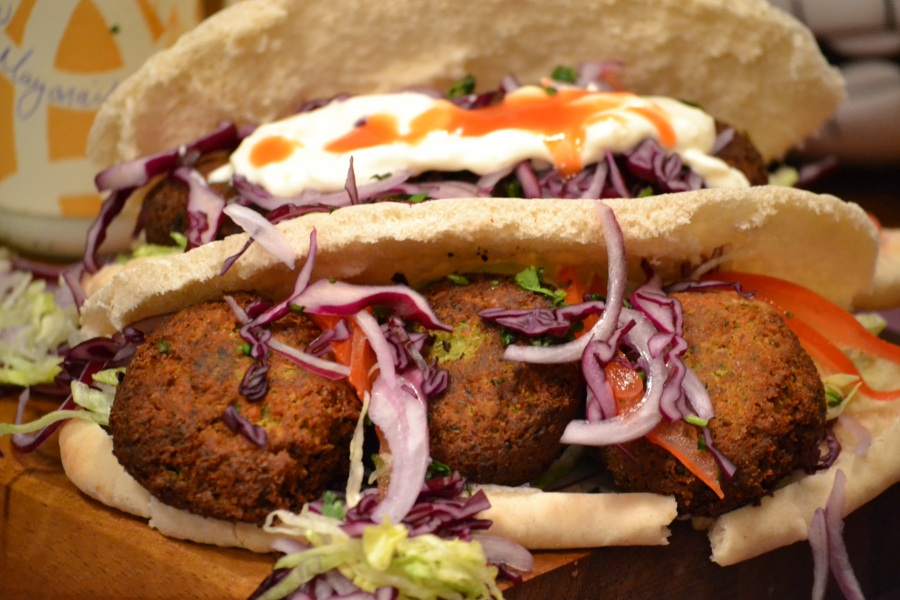 Falafel and Pitta
