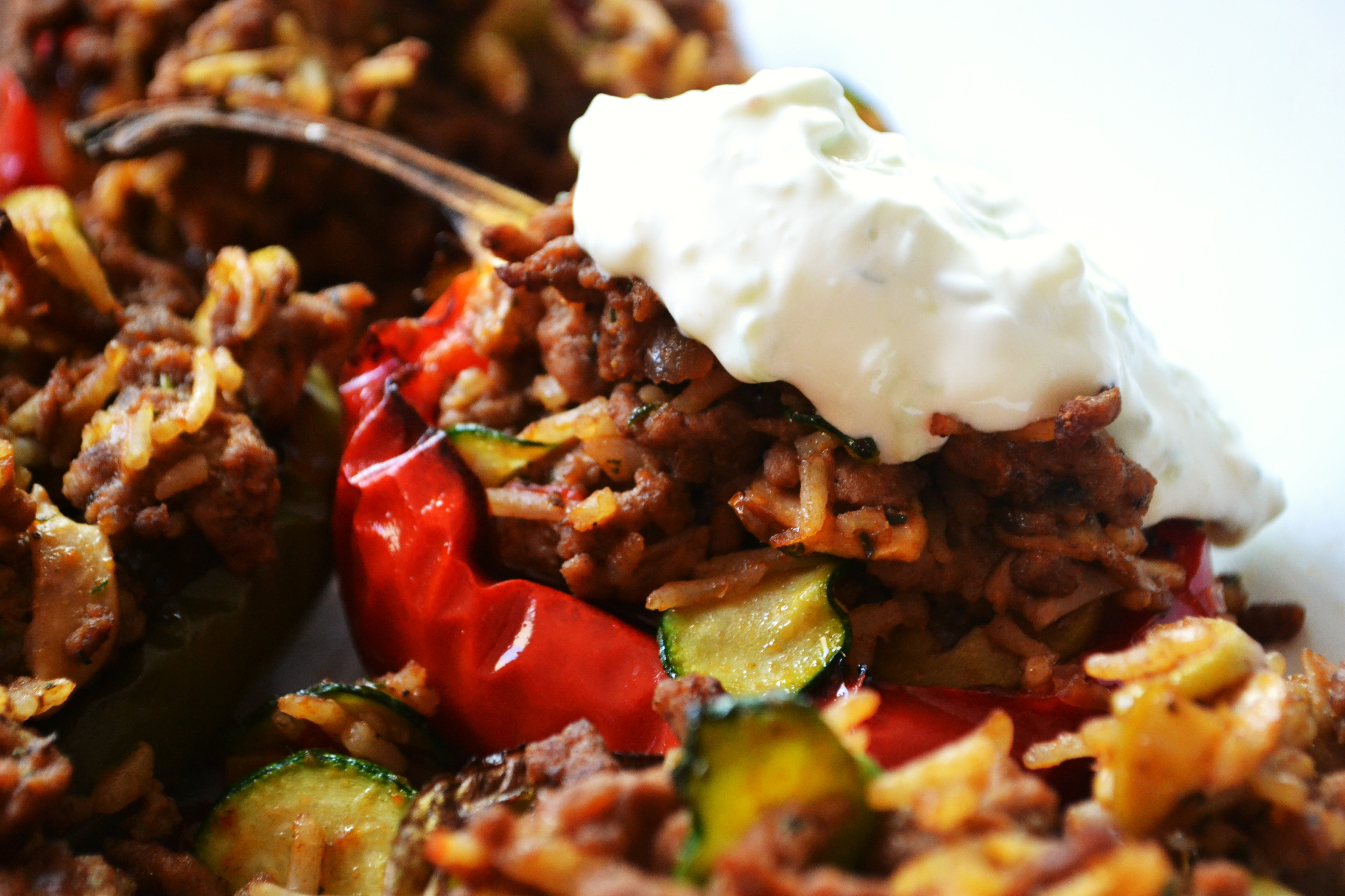 Greek-Style Stuffed Peppers Recipes — Dishmaps