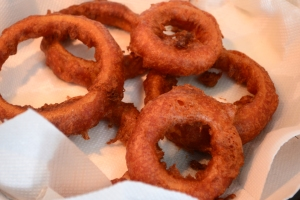 Spicy Onion rings