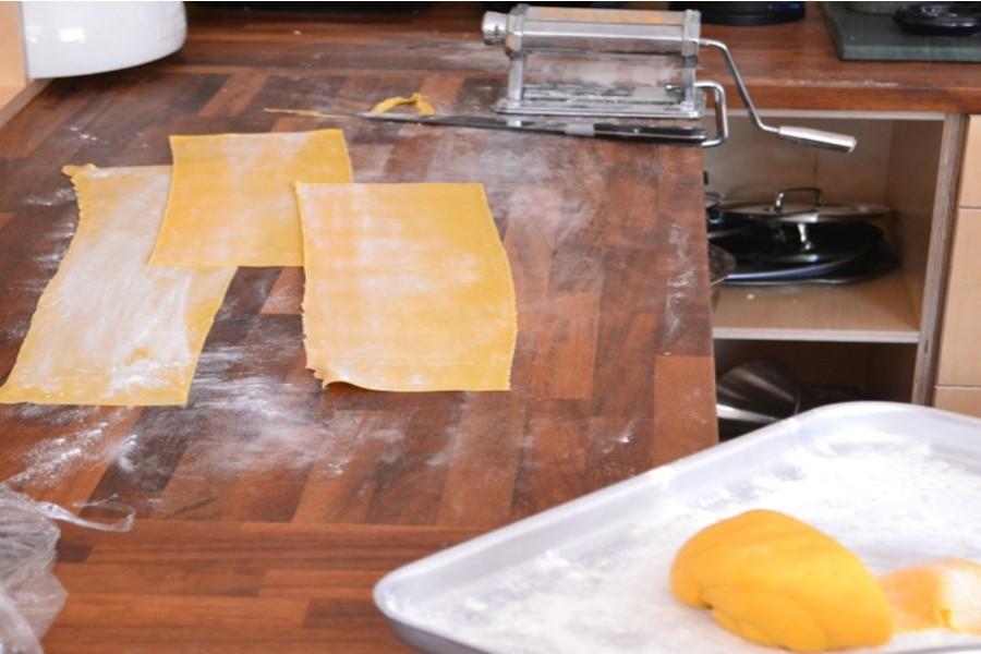 My very messy kitchen