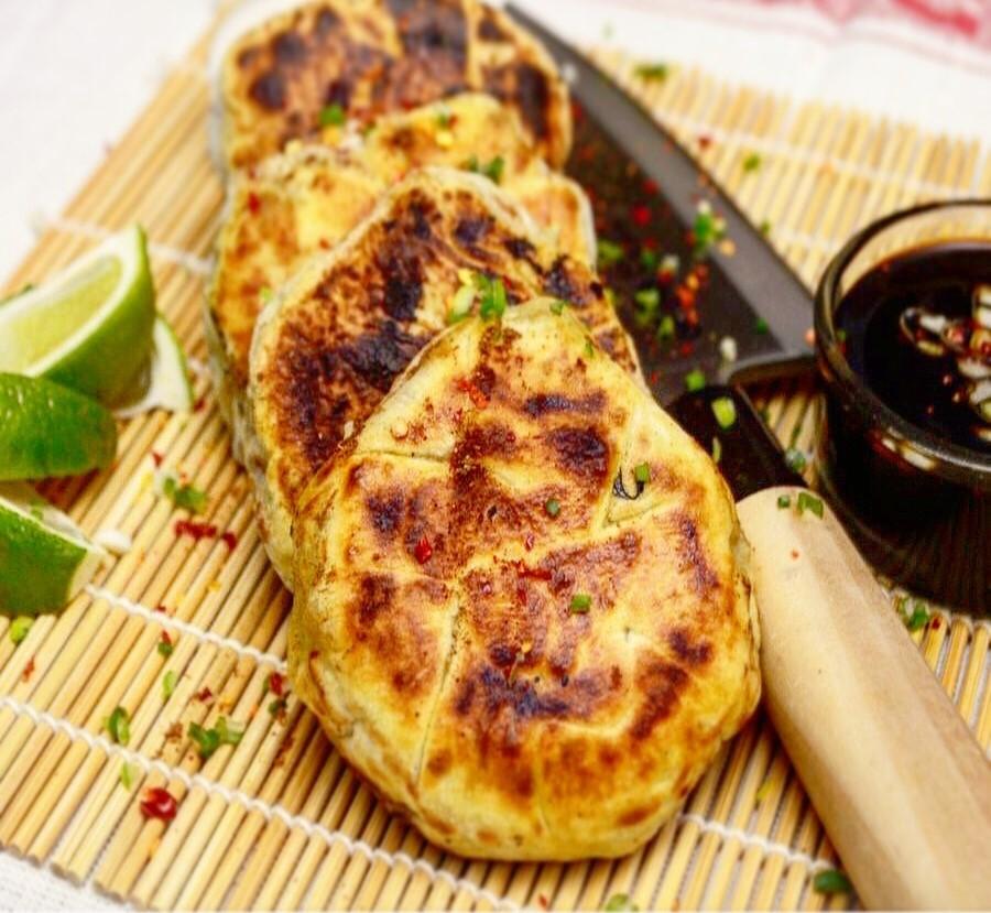 Asian pan cakes